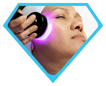 Los Angeles ultrasound face therapy at Face of Jules